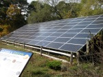 Welfleet Audubon Center solar array
