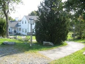 Essex County Greenbelt HQ  220 year old farmhouseRetrofit includes water-permeable parking lot