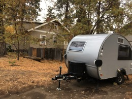 campsite in Bend